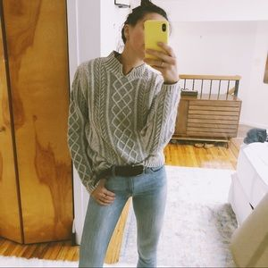LL Bean Cable Knit Sweater